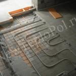 Особенности монтажа водяного теплого пола под плитку