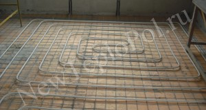 Процедура монтажа водяного теплого пола под ламинат