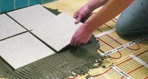 Особенности проектирования и монтажа электрического теплого пола под плитку